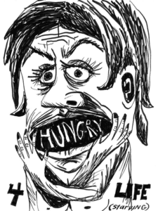 "Cate White, ""Hungry 4 Life."""